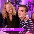 "Julien Castaldi et Anastasiya de ""The Game of Love"" - ""Mad Mag"", NRJ12, mercredi 22 février"
