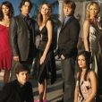 Le cast de la série Newport Beach (The OC) diffusée sur Fox