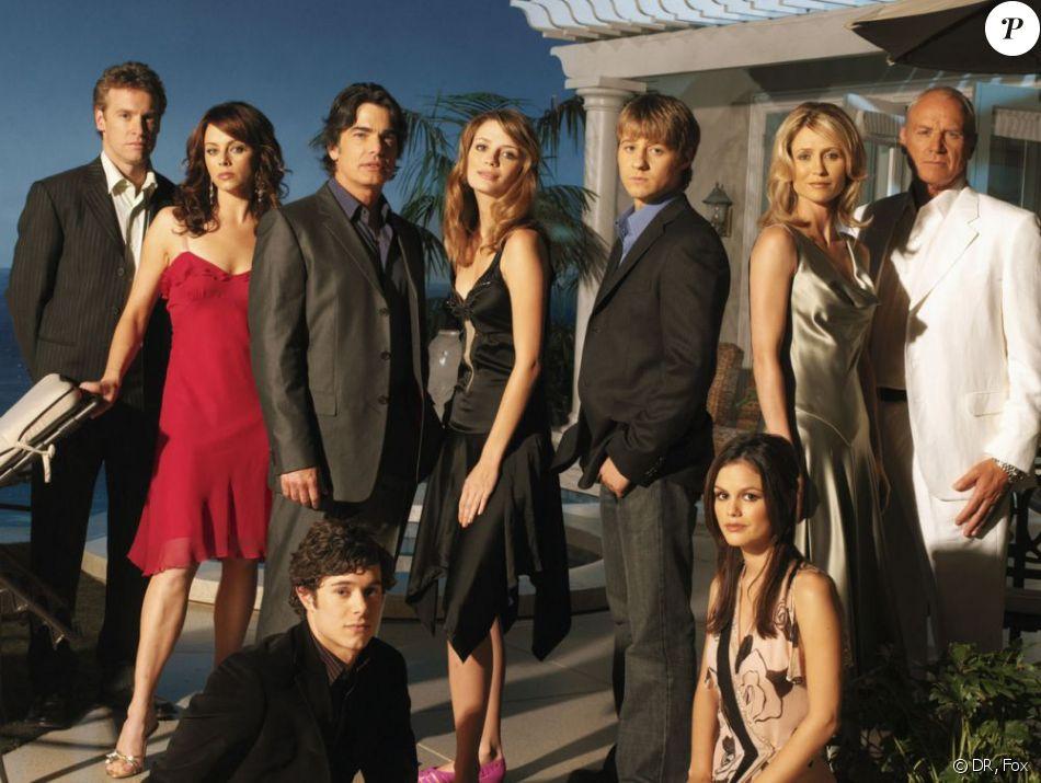 Le cast de la série Newport Beach (The OC) diffusée sur Fox