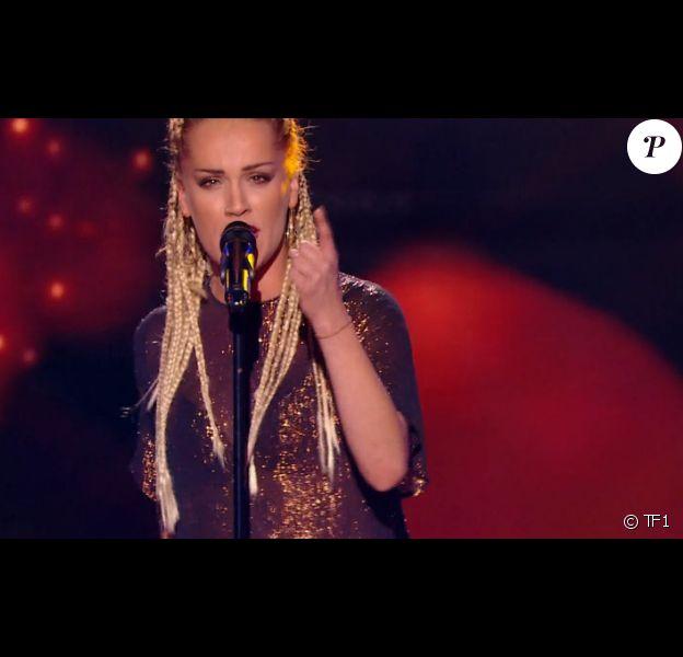 Kap's dans The Voice 6, le 25 février 2017 sur TF1.