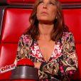 """Elise Mélinand dans """"The Voice 6"""" sur TF1, le 25 février 2017."""
