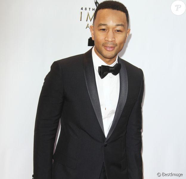 John Legend au 48e NAACP Image Awards à l'auditorium The Pasadena Civic à Pasadena, le 11 février 2017