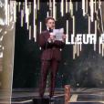 Gaspard Ulliel reçoit le César du meilleur acteur pour Juste la fin du monde. C'est le réalisateur Xavier Dolan qui récupère son prix - 24 février 2017