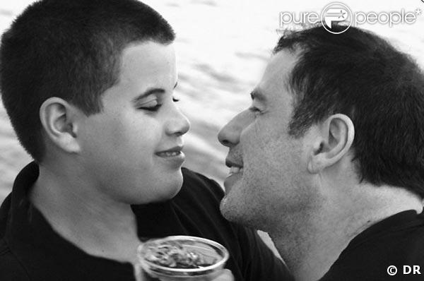 John Travolta et son fils Jett