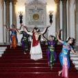 Des danseurs ont animé la réception donnée le 27 février 2017 à Buckingham Palace en l'honneur du lancement de l'année culturelle UK - India et des 70 ans de l'indépendance de l'Inde.
