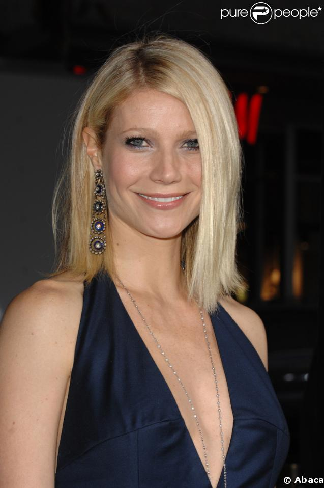 L'actrice Gwyneth Paltrow porte les mêmes boucles que Vanessa Williams.