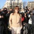 Ana Girardot - Défilé Chloé, prêt-à-porter automne-hiver 2017/2018 au Grand Palais à Paris. Le 2 mars 2017.