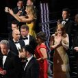 L'erreur lors de l'annonce du meilleur film (Moonlight, et non pas La La Land) lors de la cérémonie des Oscars 2017