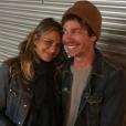 Samantha Ronson et Nate Ruess peu de temps avant la naissance de leur fils, sur une photo publiée sur Instagram le 24 février 2017