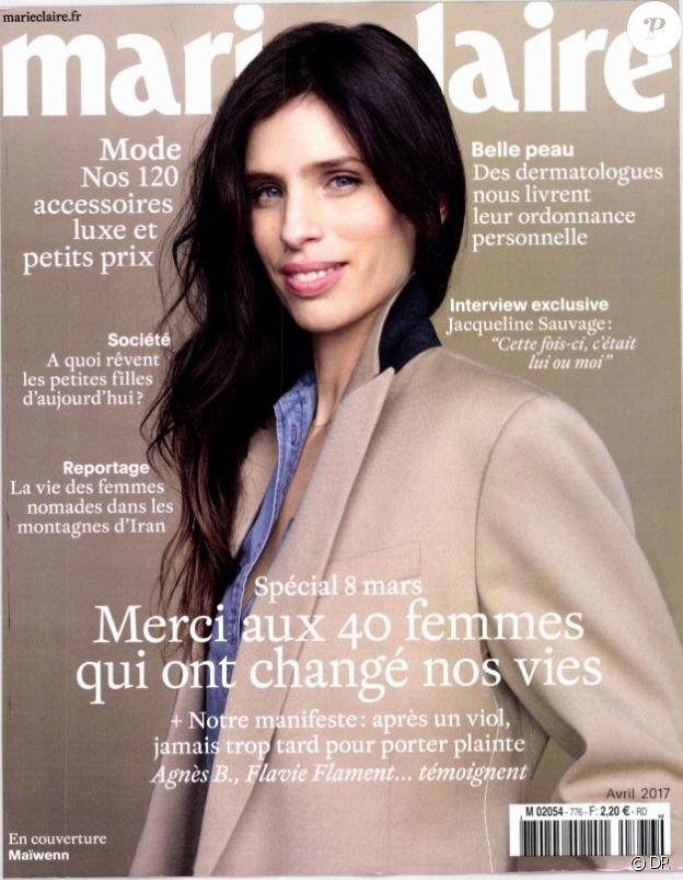 Le magazine Marie Claire, édition du mois d'avril 2017