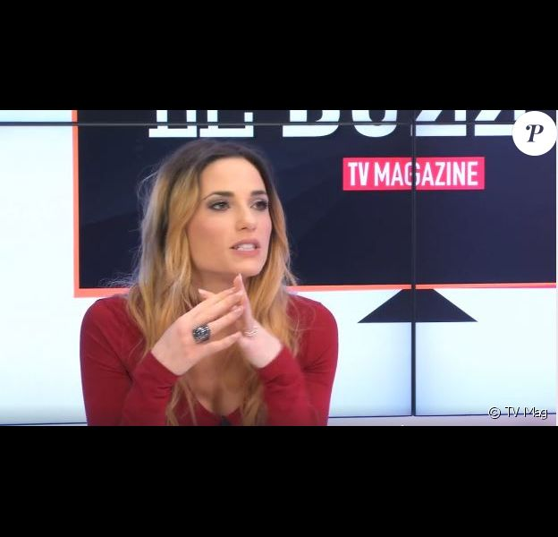 Capucine Anav en Facebook Live avec TV Mag, 9 mars 2017