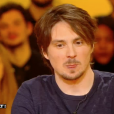"""Guillermo Guiz, ex-compagnon de Tatiana Silva, dans """"Salut les Terriens !"""" sur C8. Le 4 mars 2017."""