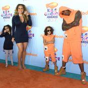 Mariah Carey, Nick Cannon et les jumeaux : Famille unie aux Kids' Choice Awards