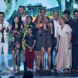 Le cast de 'Fuller House' (Série télévisée préférée)- Nickelodeon's 2017 Kids' Choice Awards à l'USC Galen Center à Los Angeles le 11 mars 2017.