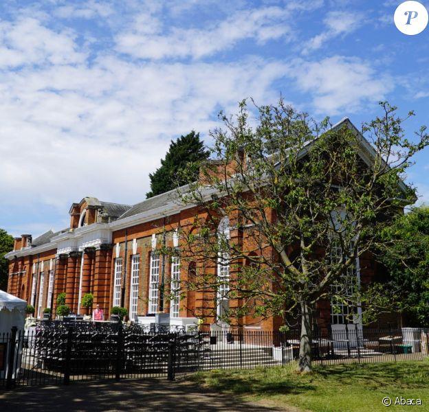 L'Orangerie du palais de Kensington, à Londres, photographiée le 10 juillet 2015 lors du mariage de Nicky Hilton et James Rothschild.