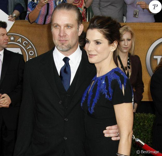 Sandra Bullock et Jesse James aux Screen Actors Guild Awards à Los Angeles le 23 janvier 2010