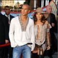 Jennifer Lopez et Cris Judd aux MTV Video Music Awards à New York le 6 septembre 2001