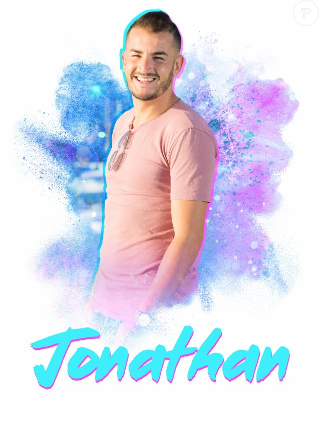 "Jonathan, candidat des ""Anges 9"", photo officielle"