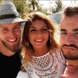 """Jordan, Sarah et Jonathan sur le tournage des """"Anges 9"""" - Instagram, 2017"""