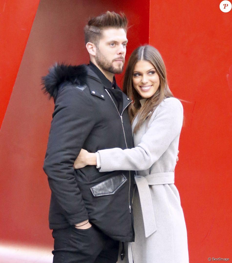 Exclusif - Iris Mittenaere (Miss Univers) et son compagnon Matthieu ont passé la Saint-Valentin ensemble, le 14 février dernier, à New York.
