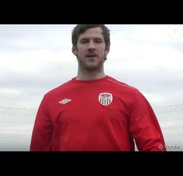 Ryan McBride, joueur de Derry City, est mort à l'âge de 27 ans. (capture d'écran)