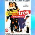 """Affiche du film """"Une femme très très amoureuse"""", sorti en 1997 et dans lequel a joué Nagui."""