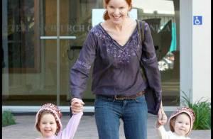 Marcia Cross : quand ses deux adorables poupées rient aux éclats !