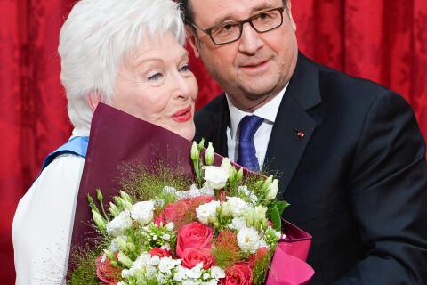 Line Renaud très émue à l'Élysée, Pascal Obispo témoin avec sa charmante Julie
