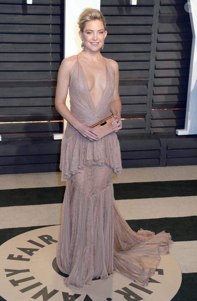 Kate Hudson à la soirée Vanity Fair en marge de la cérémonie des Oscar 2017 à Los Angeles le 26 février 2017.