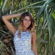 "Sarah Lopez en shooting photo torride, ""Les Anges 9"", 28 mars 2017"