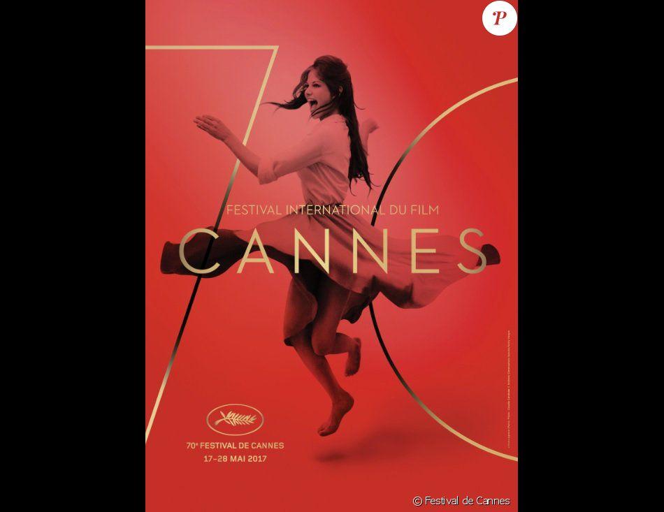 Claudia Cardinale sur l'affiche officielle du Festival de Cannes 2017.