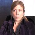 Gabrielle Guallar lors d'une interview accordée dans le cadre de ses focntions au CNC (Centre national du cinéma etde l'image animée), publiée sur Dailymail le 10 avril 2015.