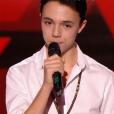"""Gianni dans """"The Voice 6"""" le 1er avril 2017 sur TF1."""