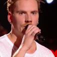 """Nico dans """"The Voice 6"""" le 1er avril 2017 sur TF1."""