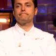 """""""Jean-François est éliminé - """"Top Chef 2017"""" sur M6, le 29 mars 2017."""""""