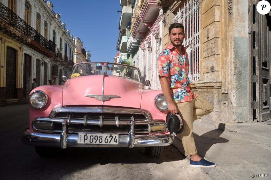 "Anthony des ""Anges 9"" en shooting photo pour la marque Cuba Vera"