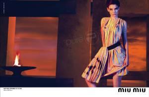 Katie Holmes... véritable icône de mode pour Miu Miu !