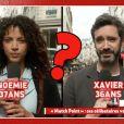 """Noemie Lenoir est repartie avec Xavier, un inconnu. Emission """"Il en pense quoi Camille ?"""" sur C8, le 4 avril 2017."""