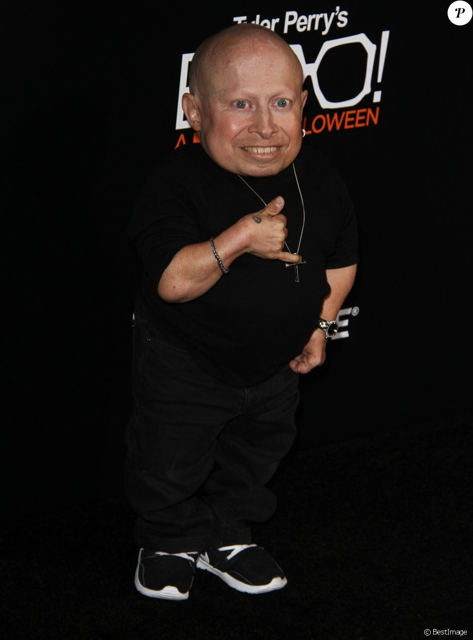 Verne Troyer à la première de ''Tyler Perry's Boo! A Madea Halloween' au Arclight Cinerama Dome à Hollywood, Le 17 octobre 2016