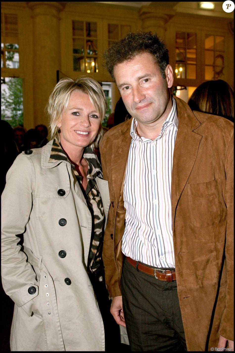 Sophie Davant et Pierre Sled au théâtre des Variétés en 2007.
