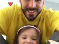 """Karim Benzema : Dimanche en famille très """"wesh"""" avec son adorable petite Mélia"""