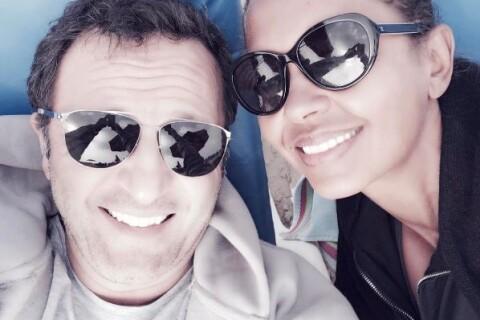 Karine Le Marchand : Selfie à la plage avec Arthur !