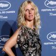 Sandrine Kiberlain - Soirée à l'occasion des 70 ans du tout premier festival de Cannes à l'école des Beaux Arts à Paris, le 20 Septembre 2016. © Dominique Jacovides/Bestimage