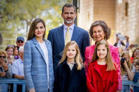 Letizia d'Espagne : Radieuse auprès de Felipe et les filles pour Pâques