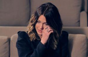 Caroline Receveur en larmes en évoquant la mort de son papa :