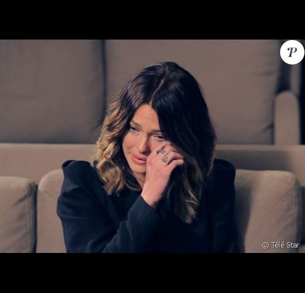 Caroline Receveur en larmes en parlant de son papa décédé - Interview médium de Télé Star