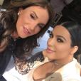 Caitlyn Jenner et Kim Kardashian en octobre 2015