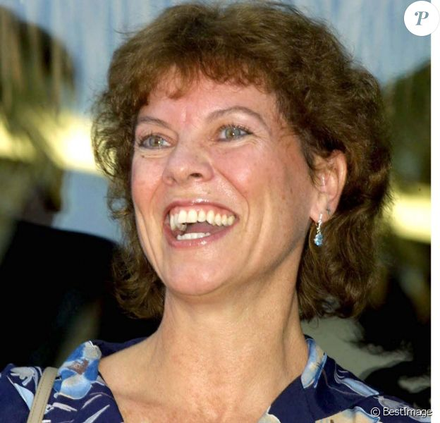 Erin Moran sur le Walkf of fame, à Los Angeles, le 13 juillet 2001.