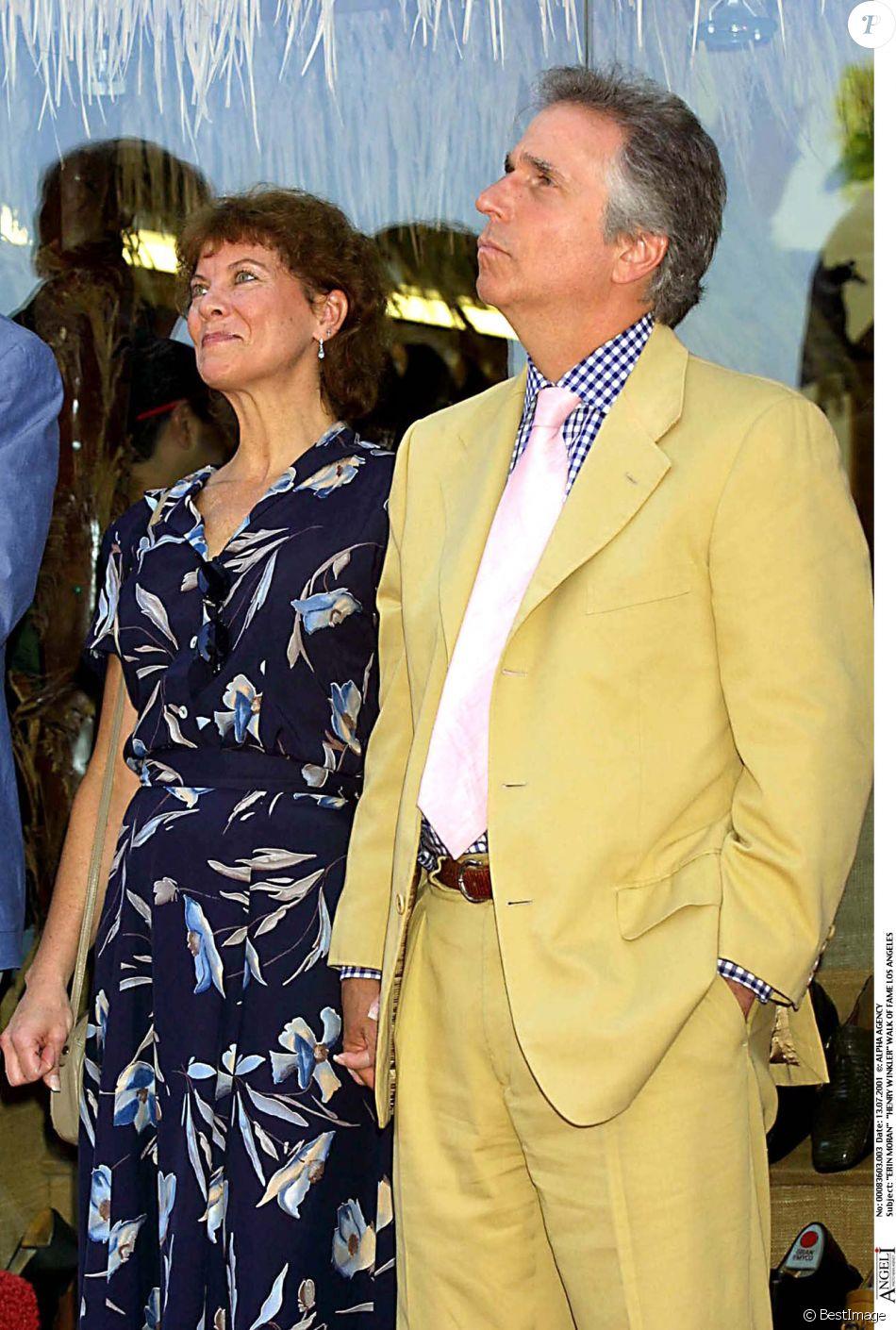 Henry winkler divorced - Erin Moran Et Henry Winkler Sur Le Walk Of Fame Los Angeles Le 13 Juillet 2001