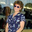 Erin Moran sur le Walk of Fame de Los Angeles, le 13 juillet 2001.